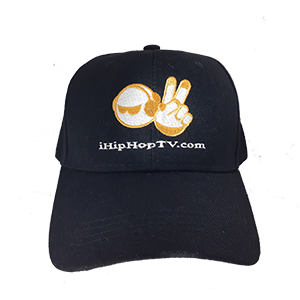 HAT VELCRO BLACK (embroidered logo)