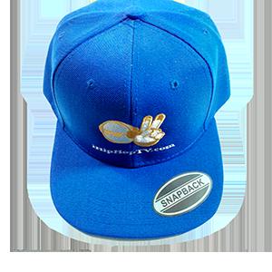 HAT SNAPBACK ROYAL BLUE (embroidered logo)