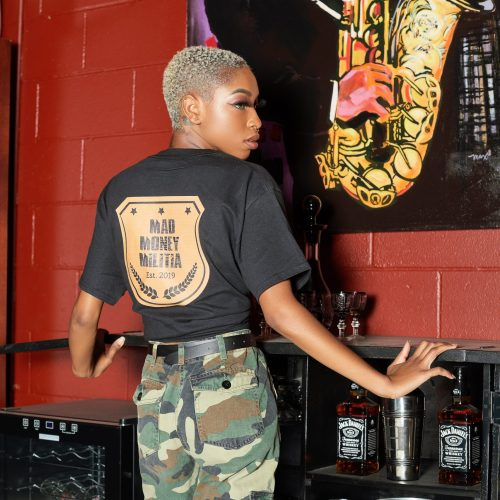 Mad Money Militia T-shirt (Black)